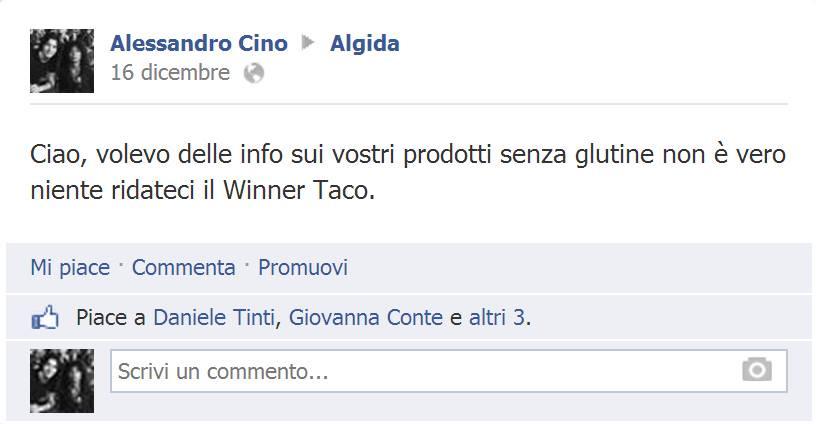 Ridateci il Winner Taco