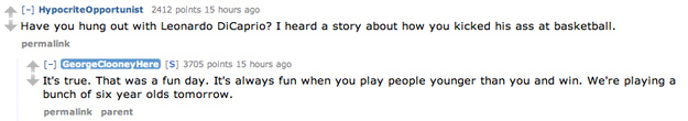 George Clooney AMA on Reddit for The Monuments men