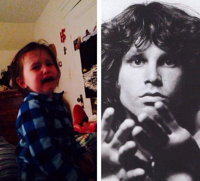 """""""Le abbiamo detto che Jim Morrison è un uomo e non una donna come pensava lei"""""""