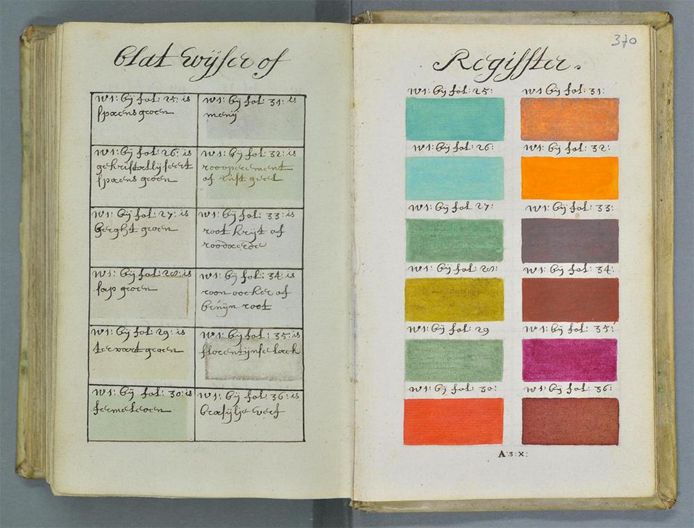La Pantone Color Guide ha un antesignano d'eccezione