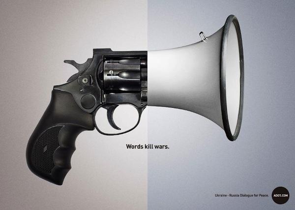 Words kill wars: quando le parole possono sconfiggere la guerra