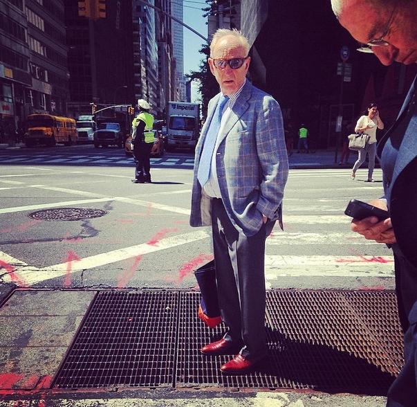 Gli influencer over 60: fashion grandpas