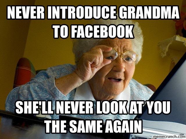 grandma meme