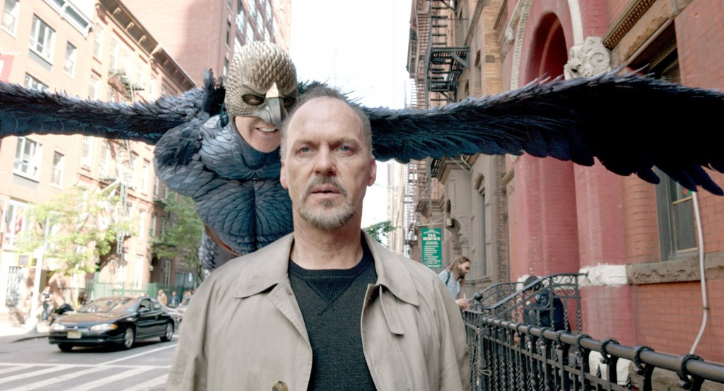 "Michael Keaton as ""Riggan"" in BIRDMAN"