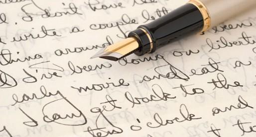 Quell'abitudine antica di scrivere a mano