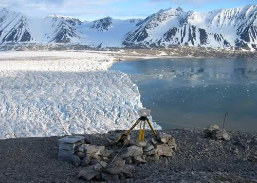 Il ghiacciaio Kronebreen