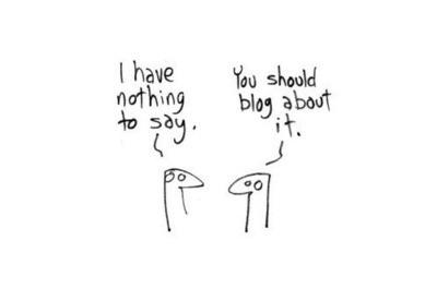 Web e social media: e se non avessimo niente da dire?