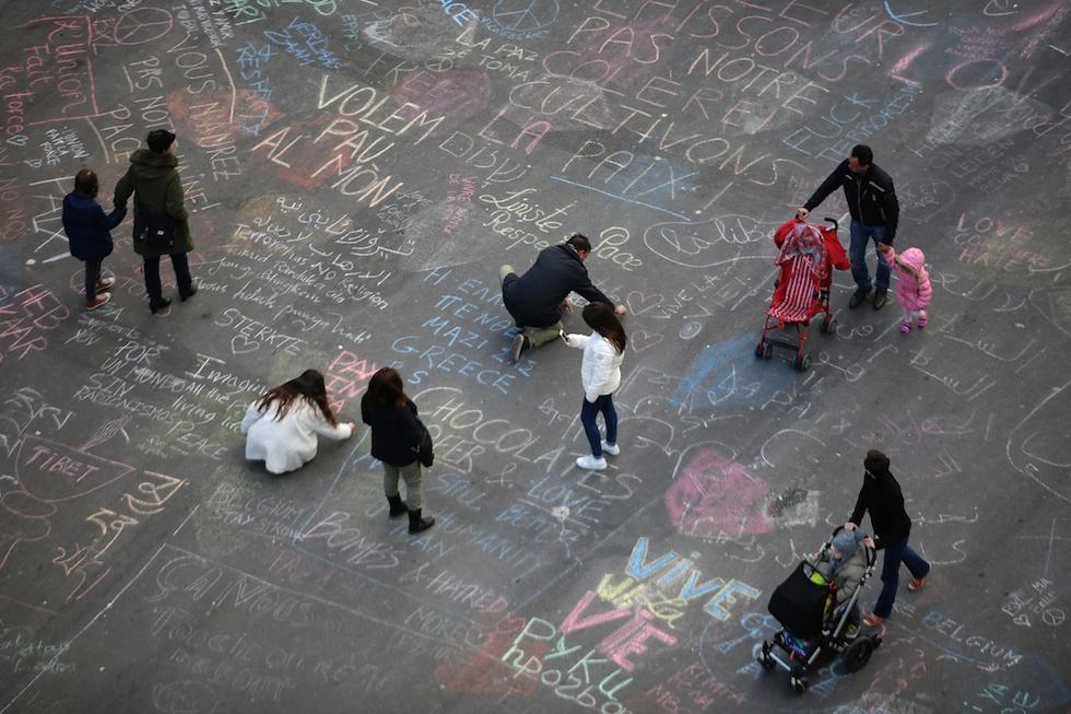 piazza della borsa bruxelles 22 marzo 2016