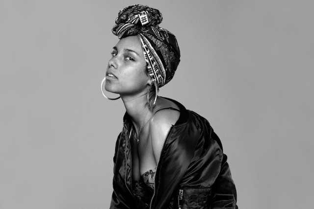 Alicia Keys senza trucco nuovo album