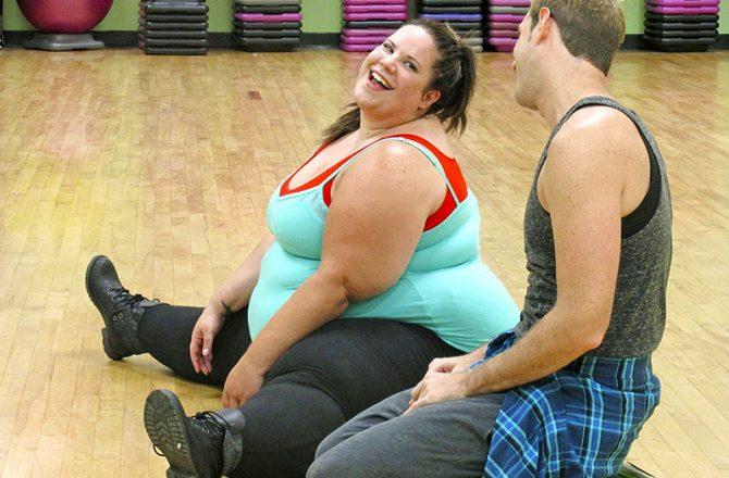 La ballerina cicciona star del web (e non solo)