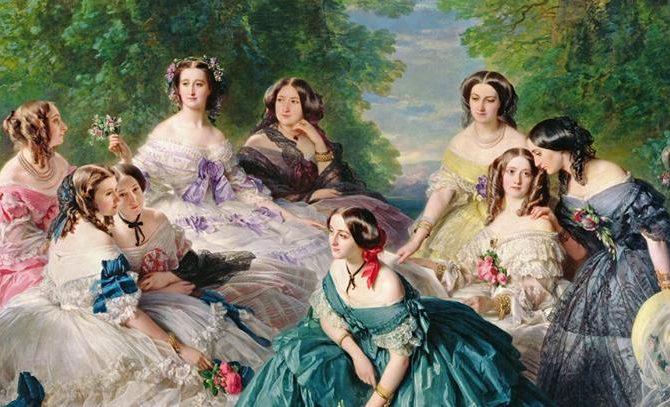 Pillole di moda di un tempo passato: Corseted beauty